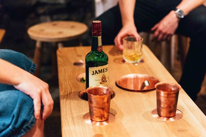 The Whiskey Drinking Collection by Galvin Brothers in collaboration with The Jameson Works, London