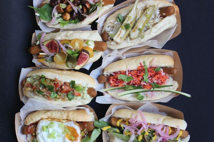 Le Tricycle Vegetarian Hot Dog's, Paris