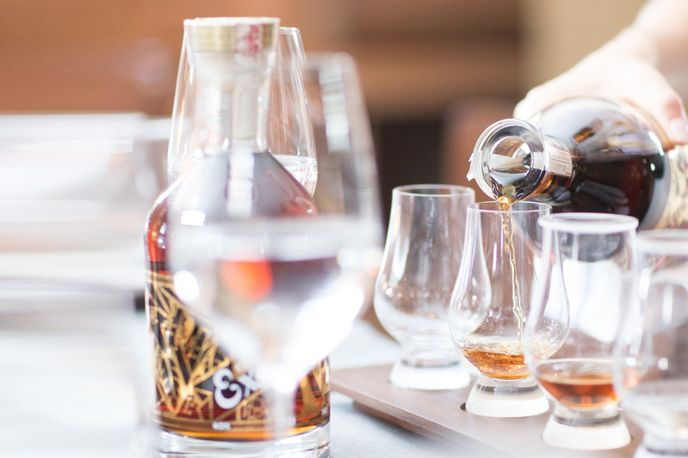 The Facundo Rum Collection from Bacardi, London