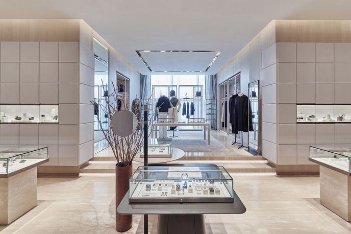 Lane Crawford Store designed in collaboration with Yabu Pushelberg, Hong Kong