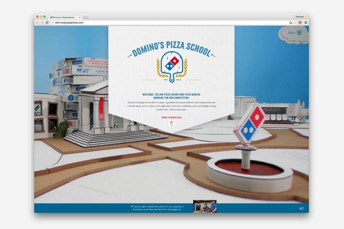Domino's Pizza School designed by CP+B, US