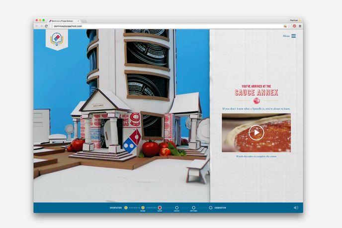 Domino's Pizza School designed by CP+B, US