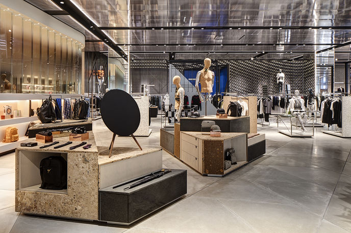 Personal Shopping suite at Harvey Nichols by Virgile and Partners, Birmingham