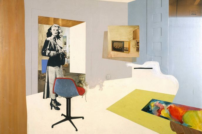 Interior II by Richard Hamilton,1964 at Tate Sensorium created by Flying Object, London