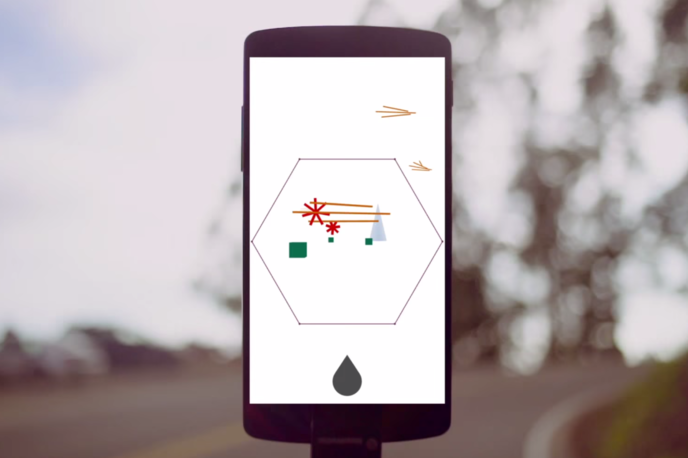 Carolina app created by Jono Brandel for Kimbra, Los Angeles