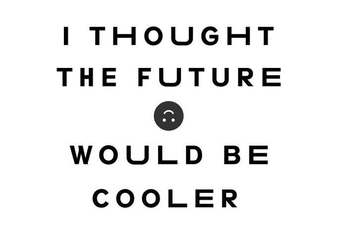 Fax campaign for I Thought the Future Would be Cooler album from YACHT, US