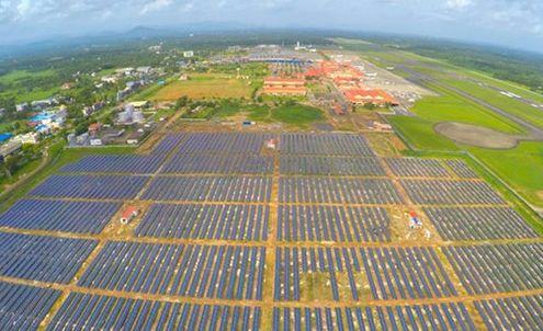 Airport solar system