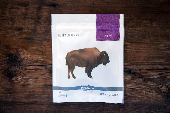 Patagonia Provisions Buffalo Jerky. photography by Amy Kumler