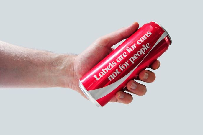 Limited-edition label-less Coca-Cola can from Coca-Cola Middle East during the month of Ramadan