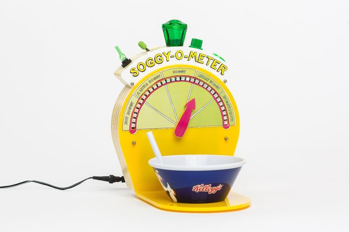 Soggy-O-Meter by Dominic Wilcox for Kelloggs, UK