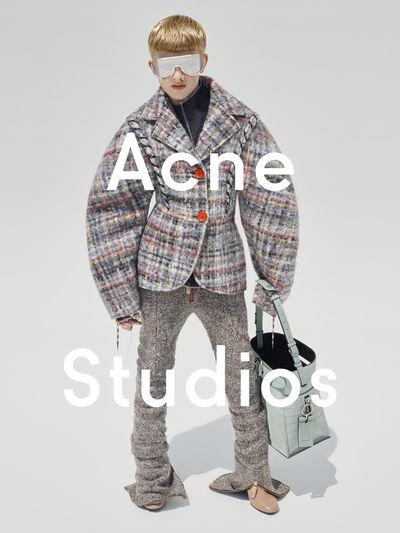 Acne Studios autumn/winter 2015 campaign directed by Viviane Sassen featuring 11-year-old Frasse Johansson, Sweden