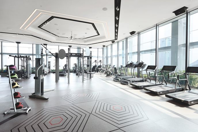 The Gravity Club from Fitness First, Singapore