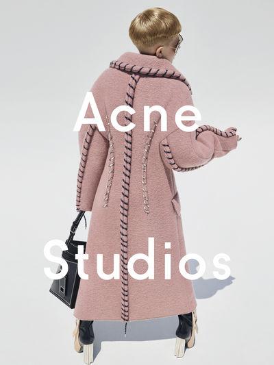 Acne Studios FW15 campaign directed by Viviane Sassen featuring 11 year old Frasse Johansson, Sweden