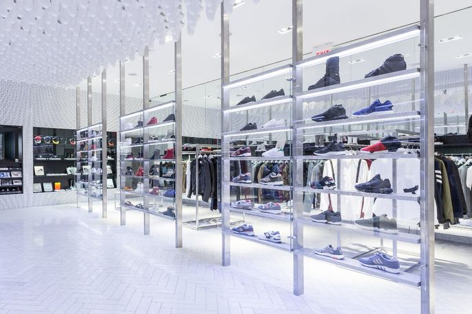 Kith store designed by Snarkitecture, Brooklyn