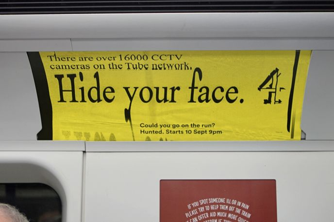 Hunted advertising campaign created by 4Creative and Bold and Bold, UK