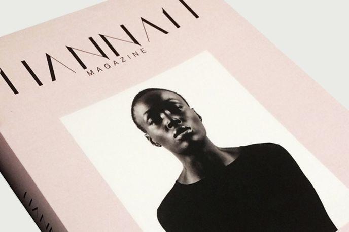 Hannah Magazine, a biannual publication providing a voice for  diverse, black women, US