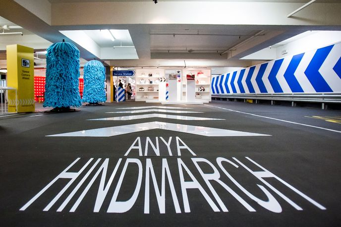 Service Station by Anya Hindmarch at Selfridges, London