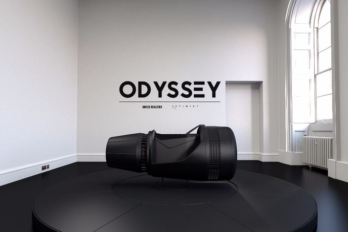 Odyssey designed by Tino Schaedler at Somerset House for London Design Festival 2015