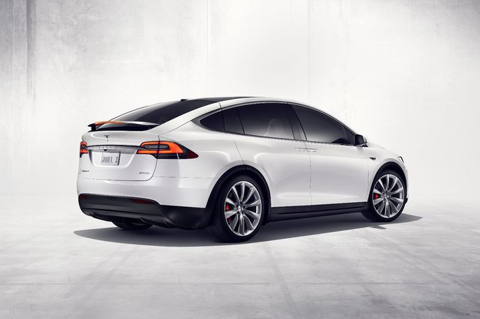 Model X from Tesla, Global