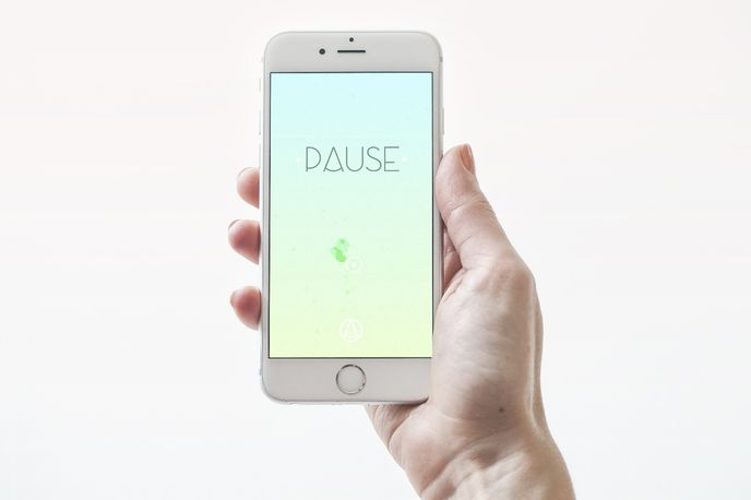 Pause App created by PauseAble and Utswo Studio, Malmö