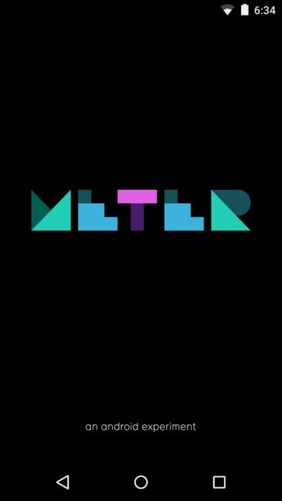 Meter App by Google Creative Labs, Global