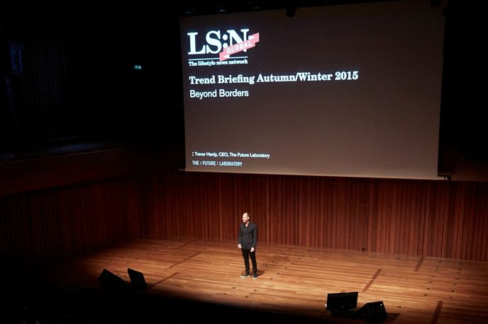 Beyond Borders Autumn/Winter 2015 LS:N Global Trend Briefing at Barbican, London