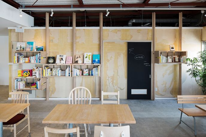 Cafe/Day by Schemata Architects, Japan. Photography by Kenta Hasegawa