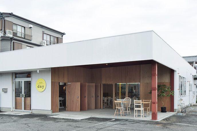 Cafe/Day by Jo Nagasaka of Schemata Architects, Japan. Photography by Kenta Hasegawa