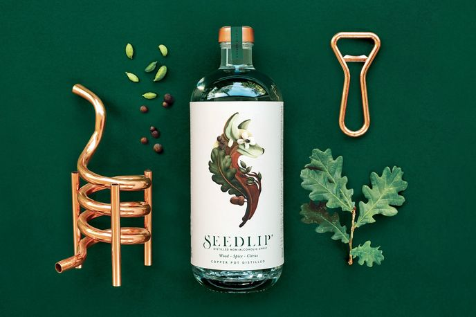 Seedlip non-alcoholic spirit, London