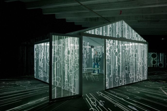 Insideout by Leigh Sachwitz at the Perspective Playground exhibition by Olympus, Paris