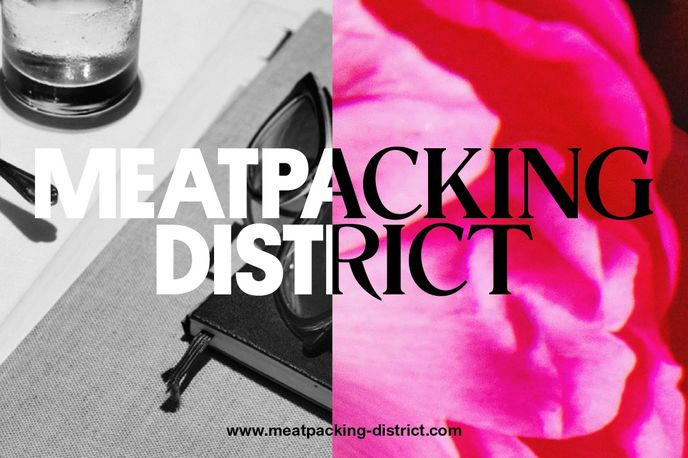 Meatpacking District branding designed by Base, New York