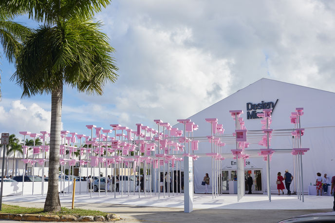 Unbuilt Pavilion by Harvard Graduate School of Design, Miami