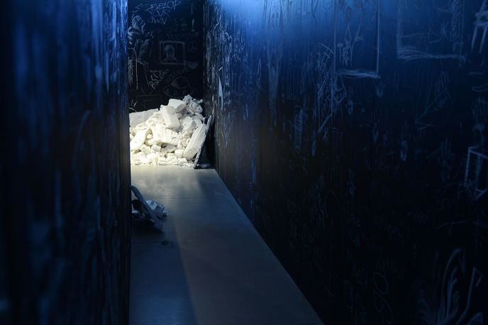 The Future Was Written by Daniel Arsham at Design Miami/ 2015