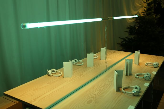 The Twelve Days of Christmas installation at The Future Laboratory, London