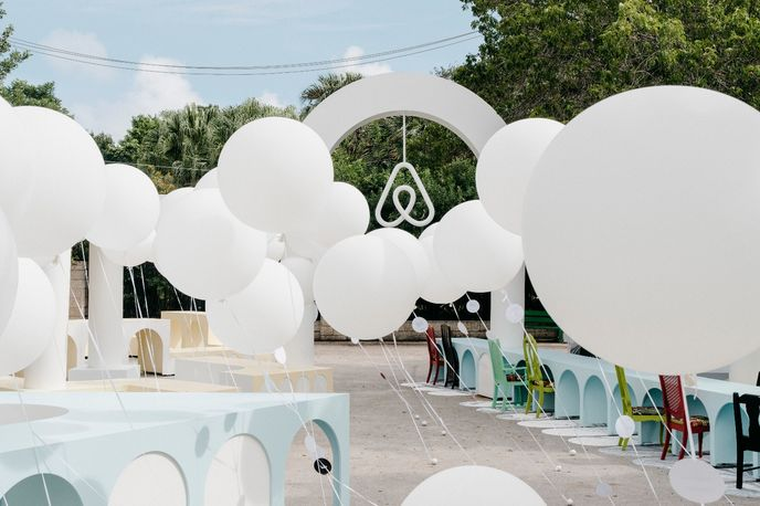 Belong. Here. Now. Airbnb installation at Design Miami 2015