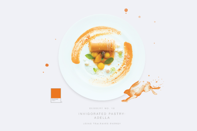 Palette for your Palate by Tealeaves and Pantone, North America