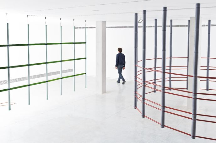 17 Screens by Ronan and Erwan Bouroullec at the Tel Aviv Museum of Art, Israel