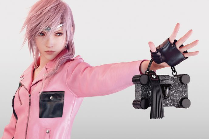 Lightning: A Virtual Heroine by Tetsuya Nomura, Louis Vuitton Series 4, Global
