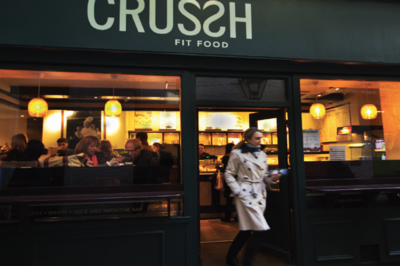 Crussh Fit Food store, London