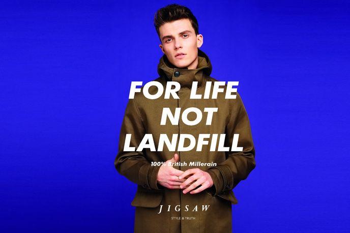 JigsawFor Life Not Landfill campaign, Jigsaw