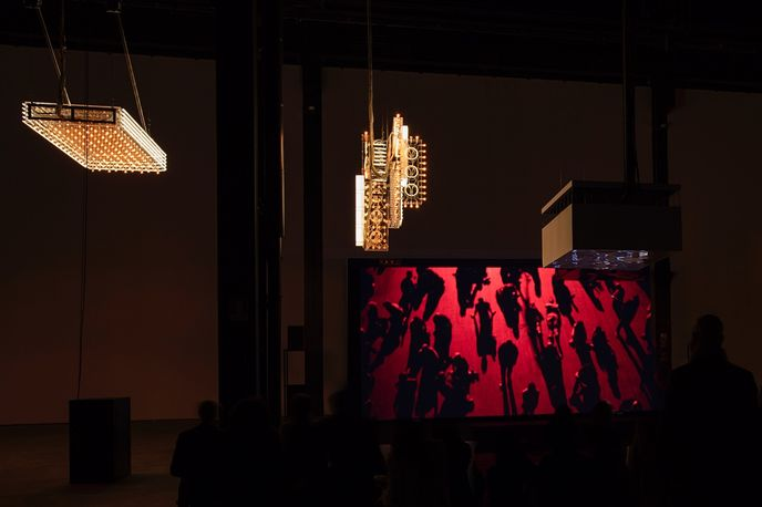 'Hypothesis' by Philippe Parreno, HangarBicocca, Milan, photography by Andrea Rossetti