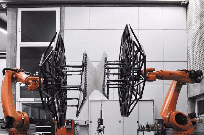 Filament winding robots, The University of Stuttgart, Germany