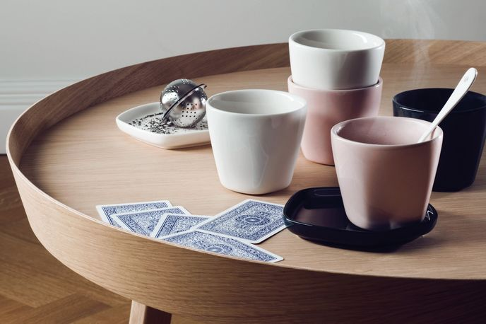The Pause for Harmony collection by Iitala and Issey Miyake, Stockholm