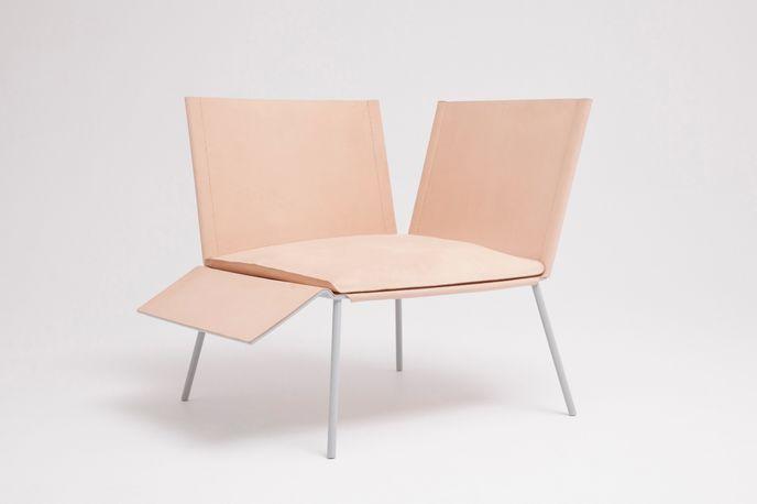 Saddle Chair by Thom Fougere Studio at Stockholm Design Week, Sweden