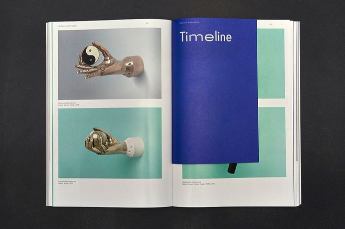 Electronic Superhighway exhibition catalogue designed by Julia, London