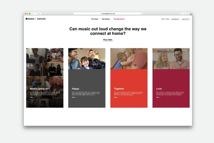 Sonos and Apple Music study by United Minds, Global