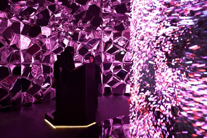 Algorithmic Management by Tellart and Marshmallow Laser Feast at Museum of the Future, Dubai