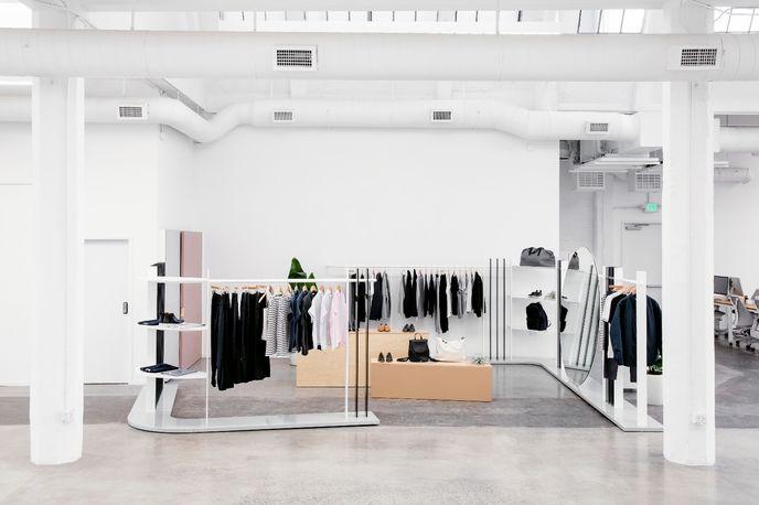 Everlane showroom designed by Brook&Lyn, San Francisco
