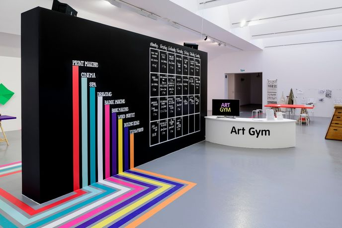 Art Gym at The Tate, Liverpool