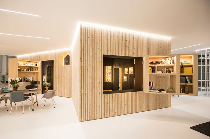 Mini Living by Mini, studio OnDesign and Arup, Milan